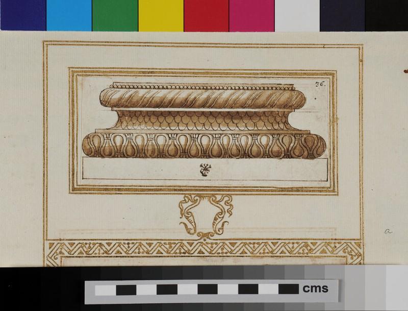 A Corinthian column base (WA1942.55.135.1, verso)
