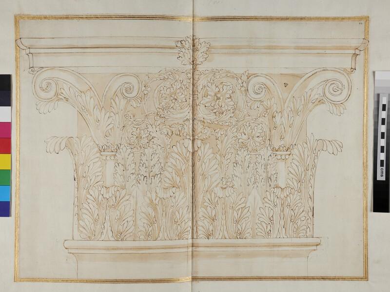 A Corinthian capital, possibly for a lesene (WA1942.55.139.1, verso)