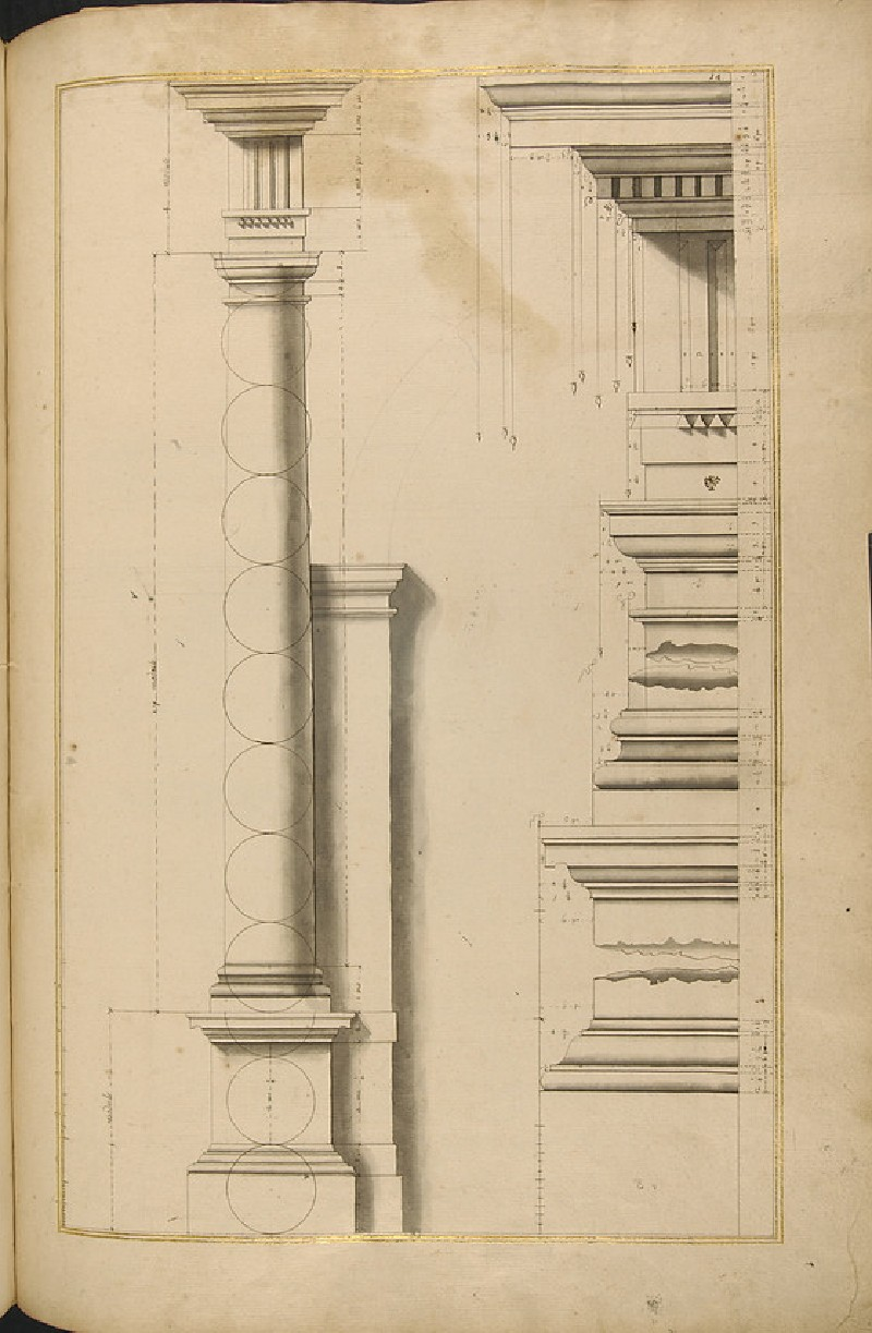 Various details of the Doric order (WA1942.55.102)