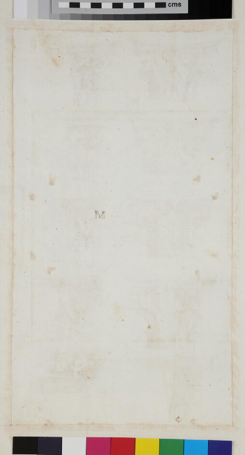 Ten capitals of various orders (WA1942.55.140, verso)