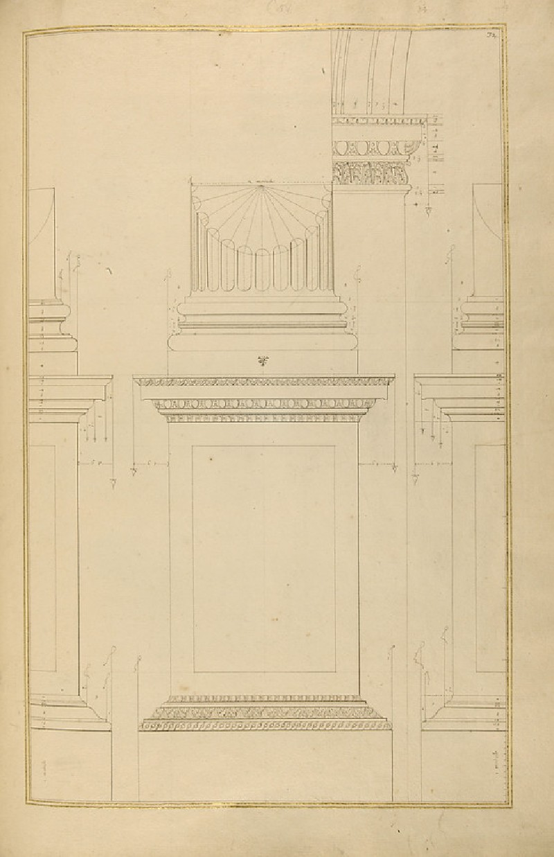 Various details of the Corinthian order (WA1942.55.130)