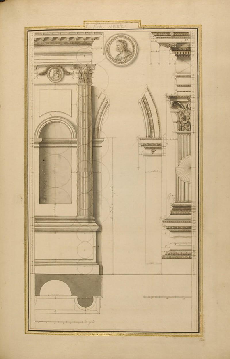 Various details of the Corinthian order (WA1942.55.136)