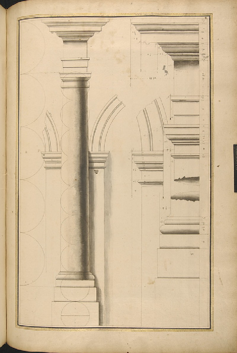 Various details of the Doric order