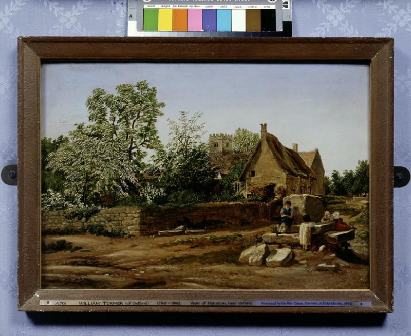 View of Marston, near Oxford (WA1942.60)