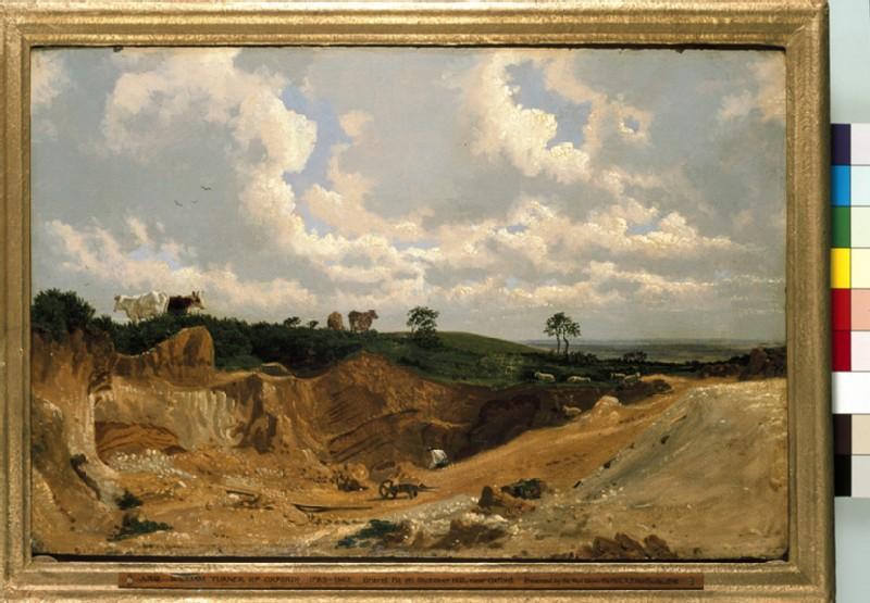 Gravel Pit on Shotover Hill, near Oxford (WA1942.61)