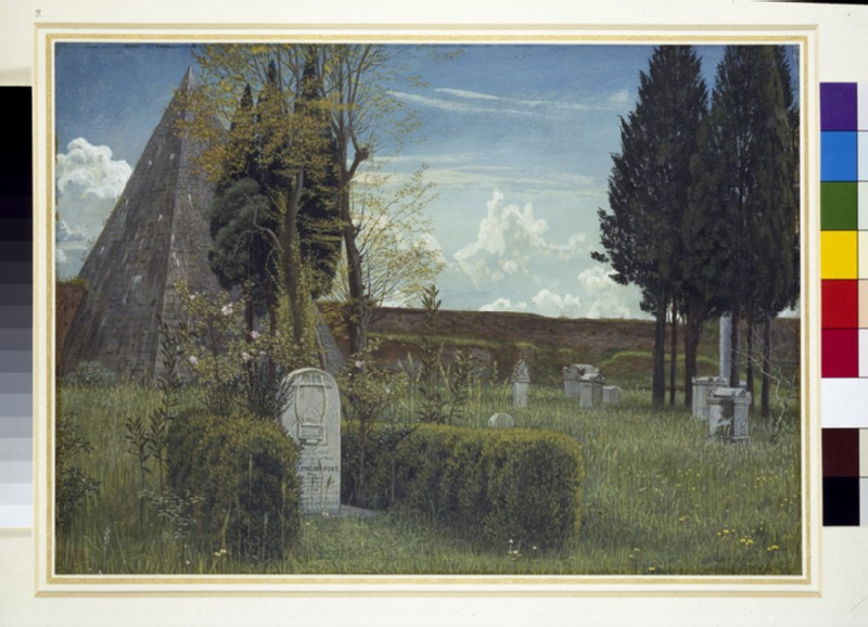 The Grave of Keats (WA1942.78)