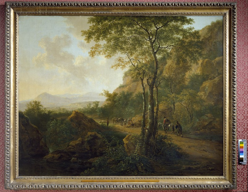 Italianate Landscape with Muleteers (WA1943.1)