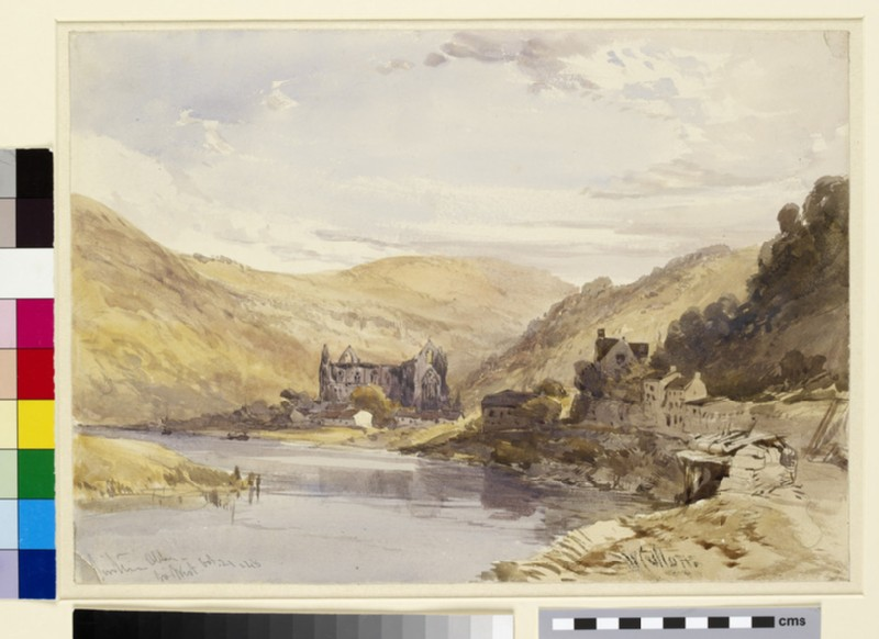 Tintern Abbey from the West