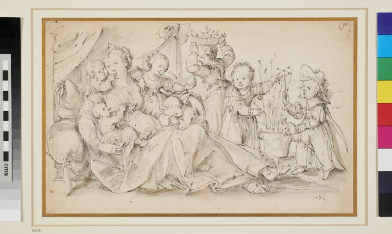 Allegory of Charity (WA1943.74, recto)