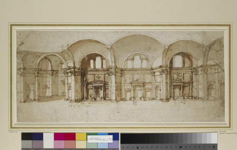 Project for the church of Saint Domenico, Siena
