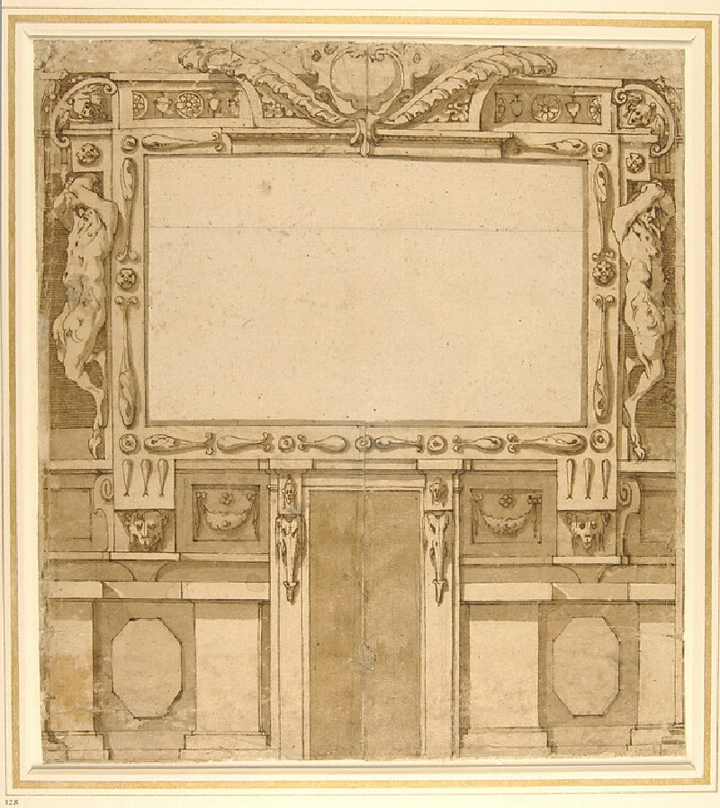 Design for the decorative treatment of a wall