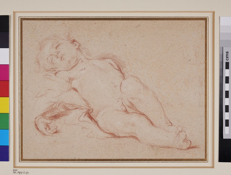 Recumbent Figure of a nude Child