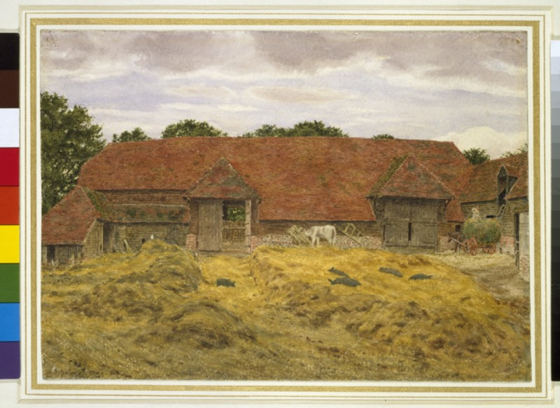Red Barn at Whitchurch (WA1944.32)