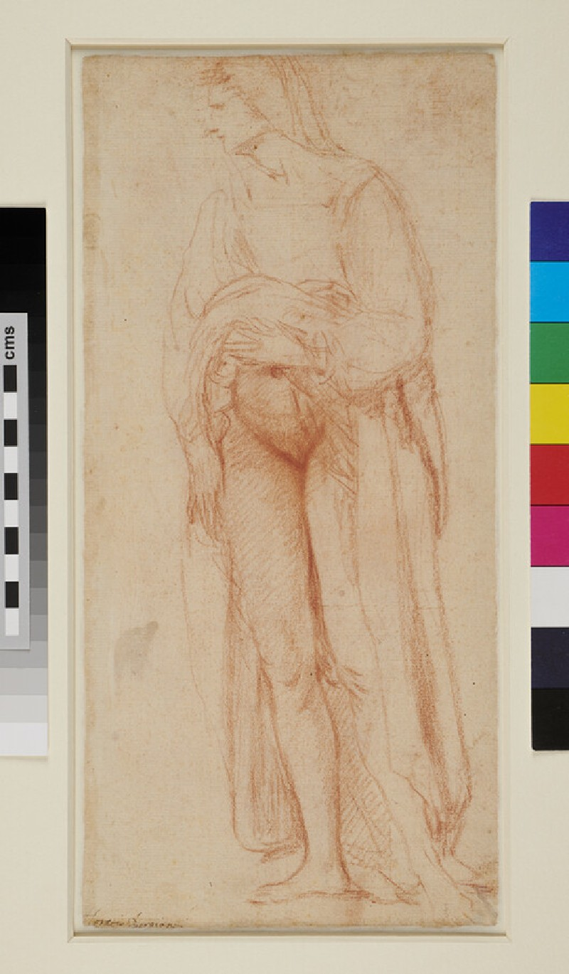 Recto: Study of a Beggar and a Leg