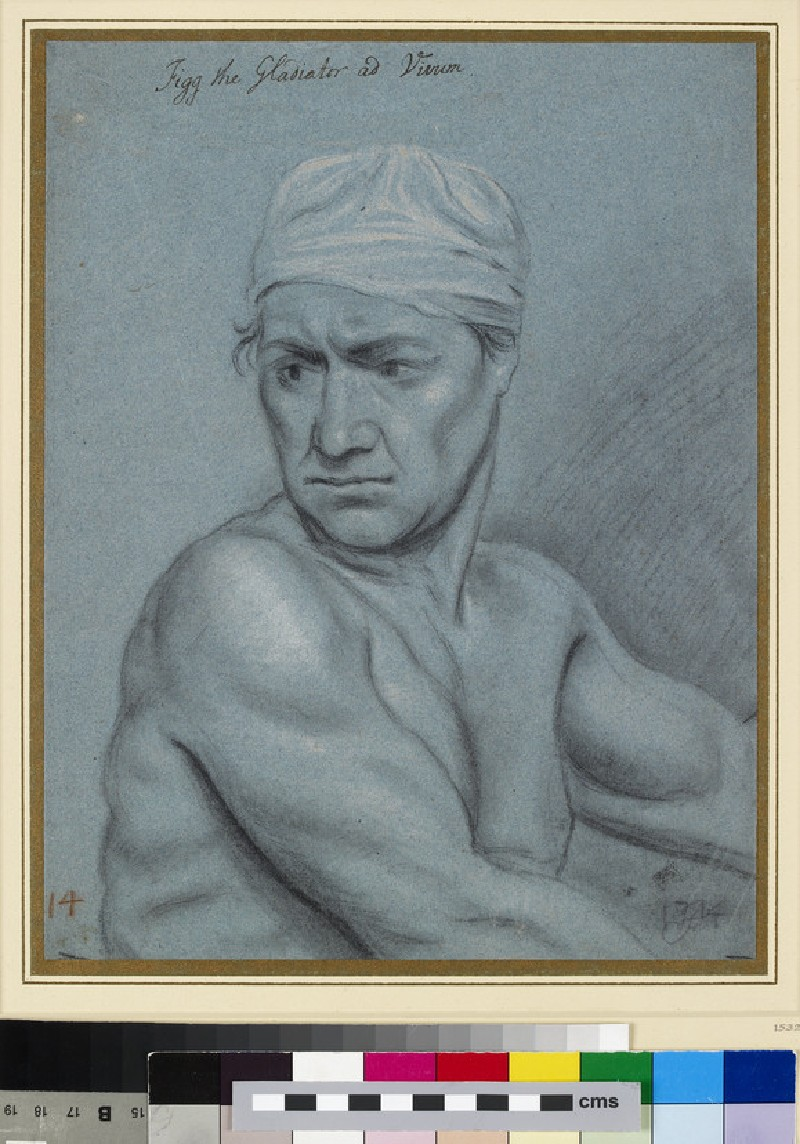 Portrait of James Figg (d. 1734) (WA1945.135)