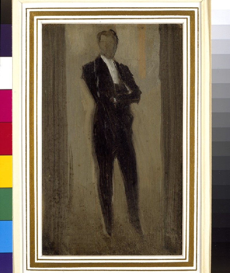 Portrait of a Man in Evening Dress, once thought to be of Sir Herbert Beerbohm Tree
