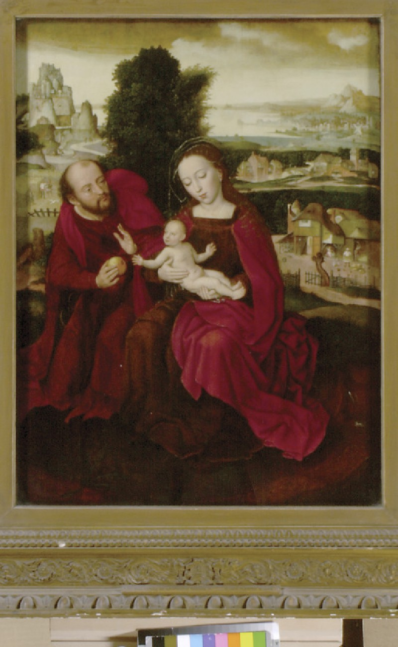 The Holy Family in a Landscape (WA1945.62)