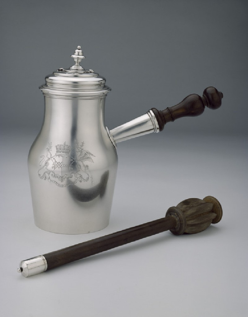 Chocolate Pot with Swizzle-stick (WA1946.111)