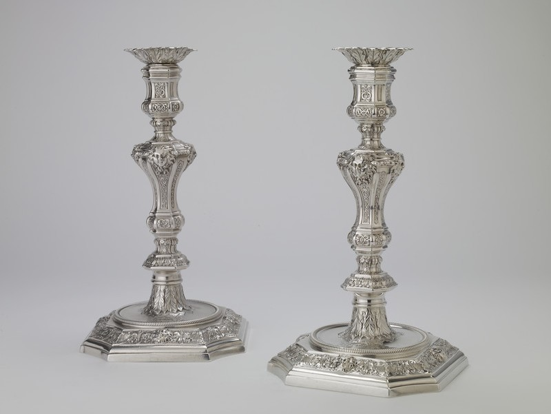 Candlestick, one of a pair (WA1946.124.1)