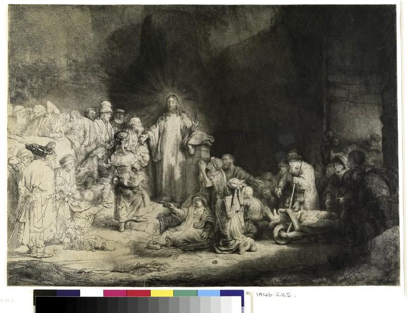 The Hundred Guilder Print (Matthew 19) (WA1946.225)