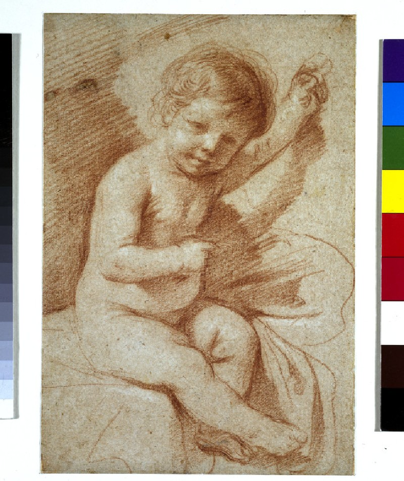 A nude boy, probably the infant Christ