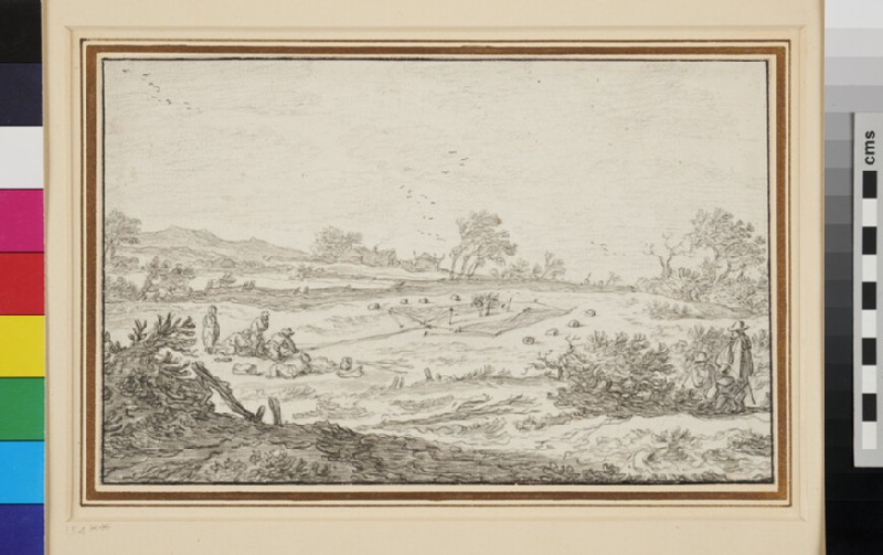 Landscape with Bird Catchers