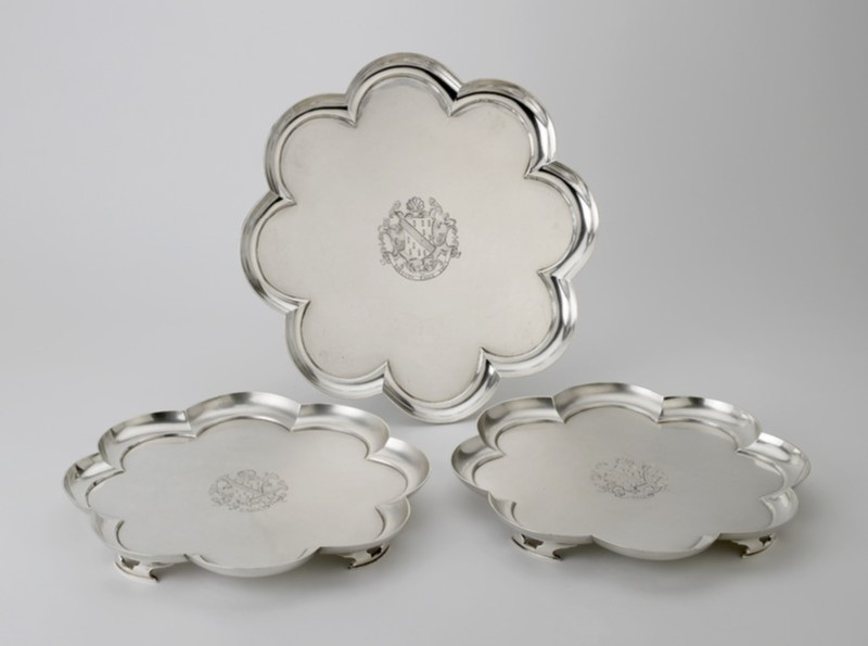 Salver, one of a set of three (WA1946.39.1)