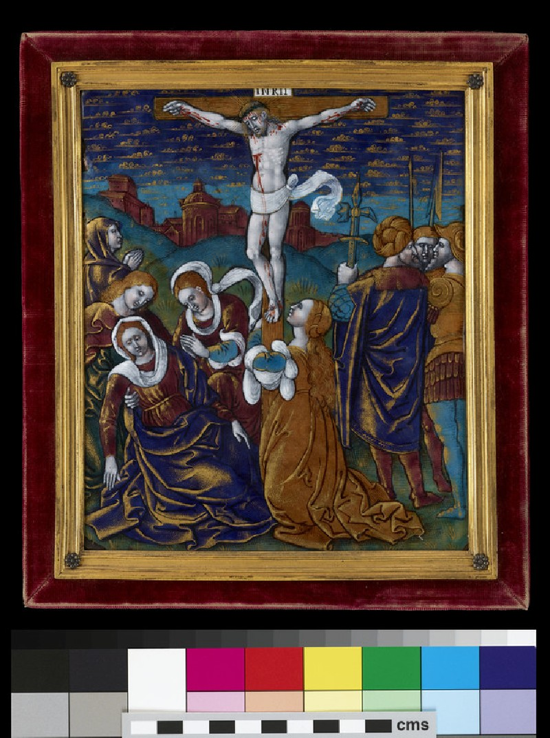 Plaque: The Crucifixion