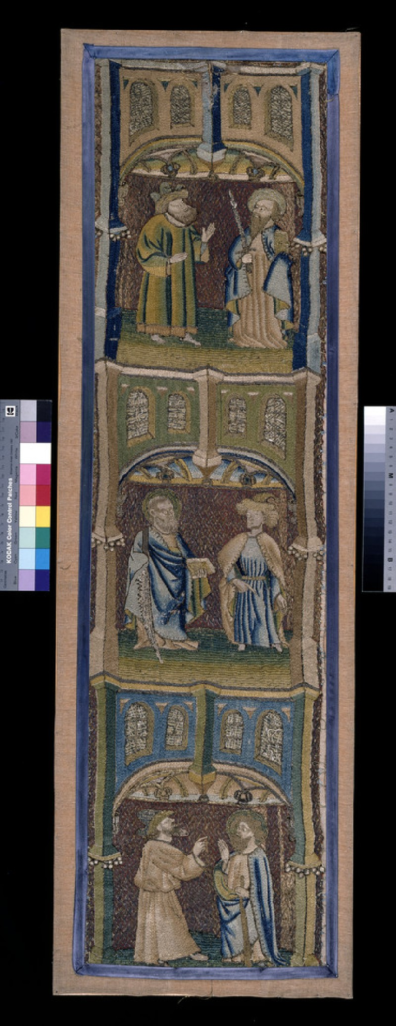Ecclesiastical vestment embroidery, Opus Anglicanum (WA1947.191.304)