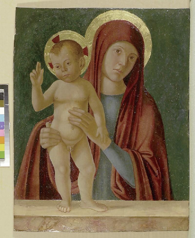 The Virgin and Child (WA1947.201)