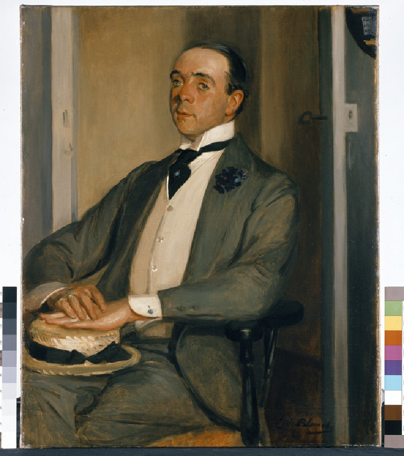 Portrait of Max Beerbohm
