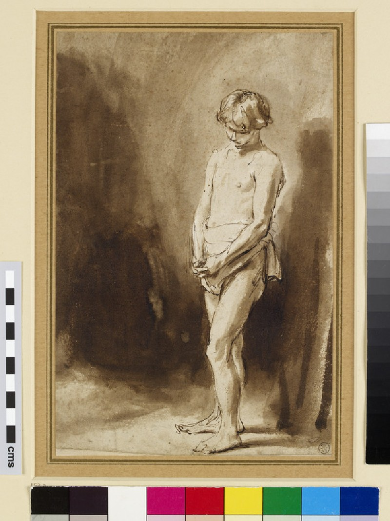 Standing male Nude (WA1947.326)