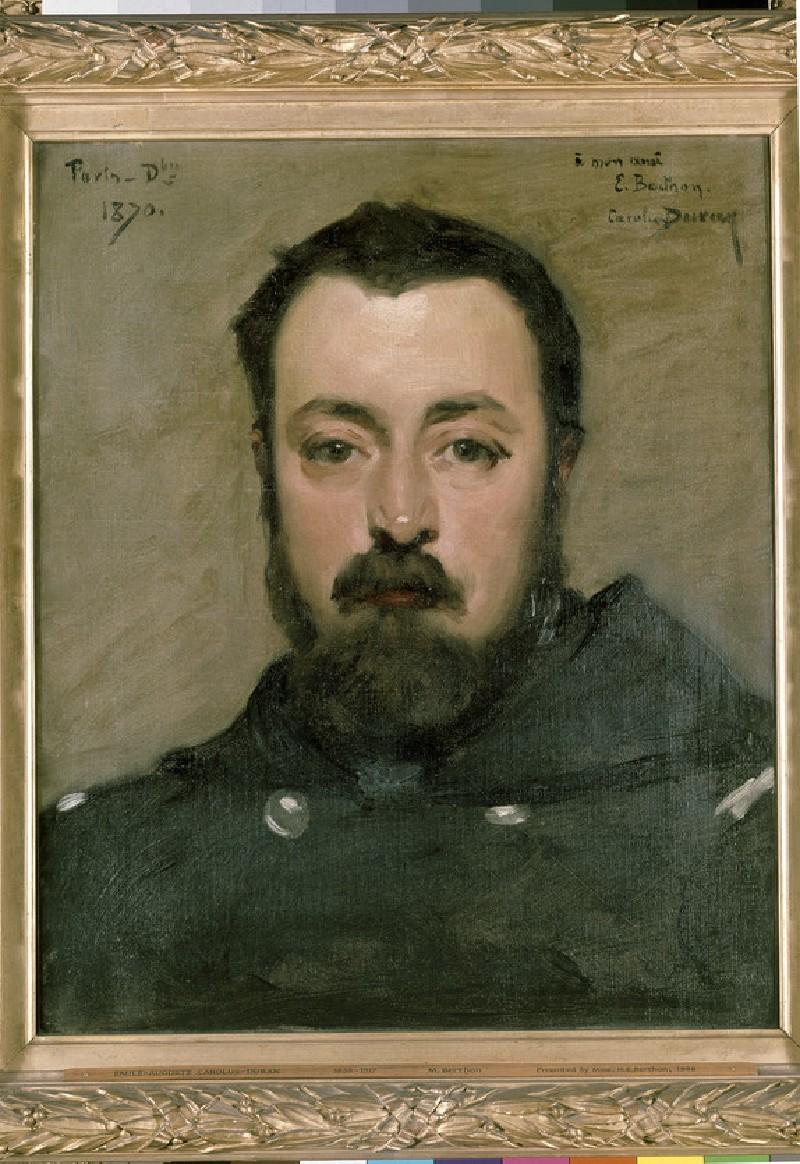 Portrait of Jean-Édouard Berthon (WA1948.102)