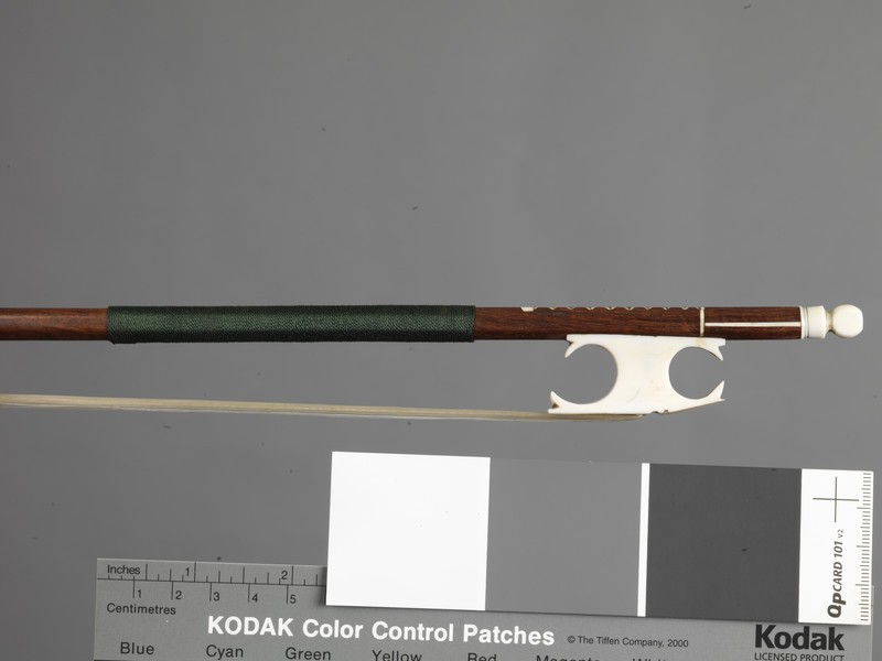Violin bow Cramer-style