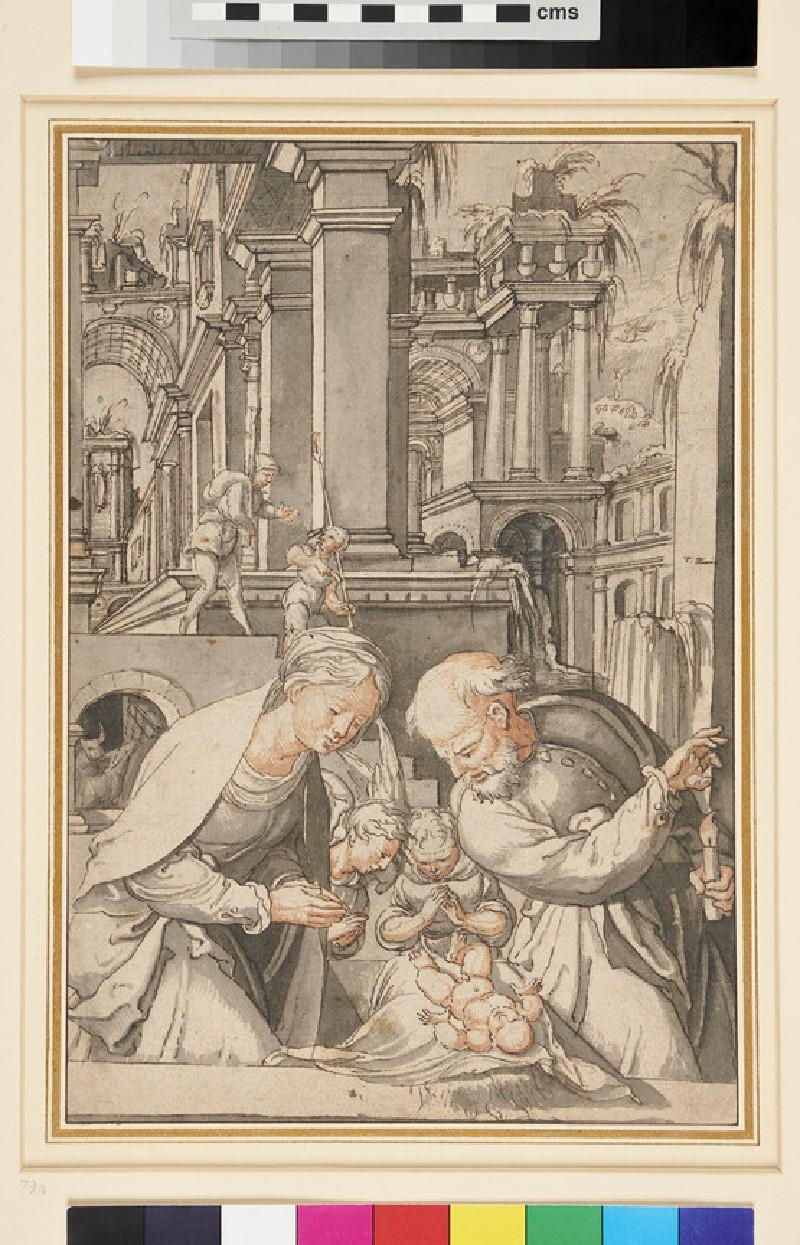The Nativity (WA1948.198, recto)