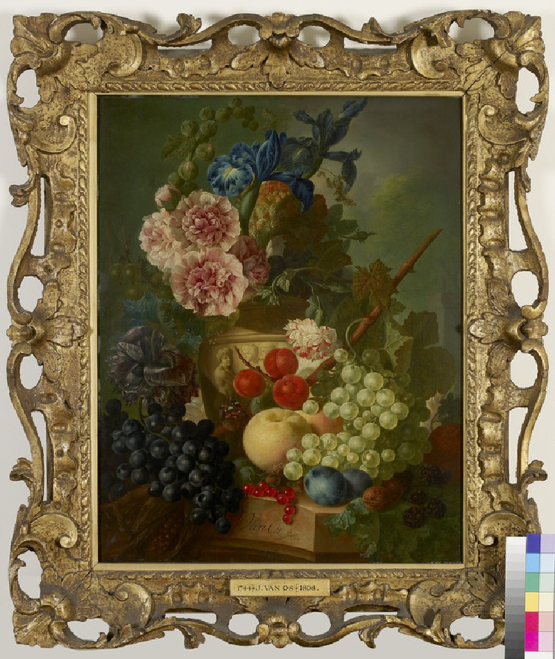 Still Life of Flowers and Fruit (WA1948.33)