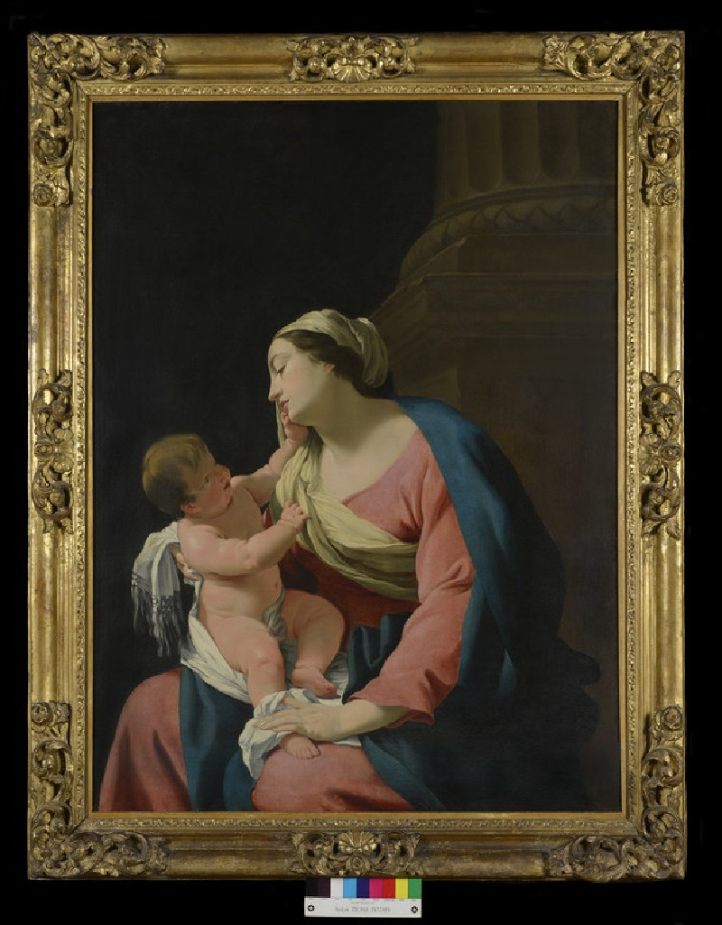 The Virgin and Child (of the Column)