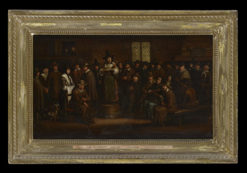 A Quaker Meeting (WA1949.202)
