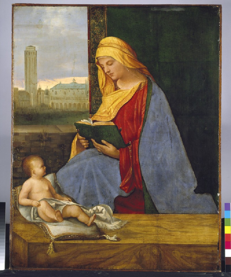 The Virgin and Child with a View of Venice (The Tallard Madonna) (WA1949.222)