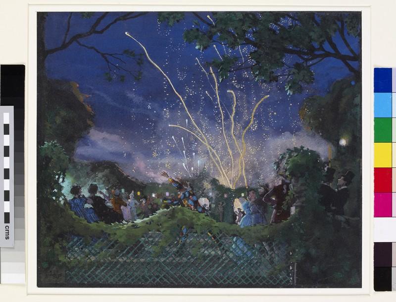 Fireworks (WA1949.350)