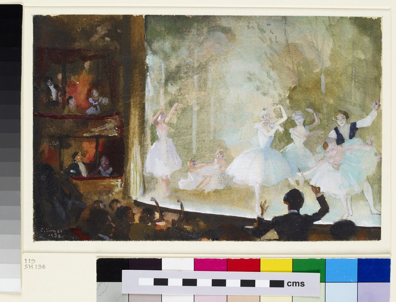 Russian Ballet, Champs-Elysées: Les Sylphides (WA1949.369)