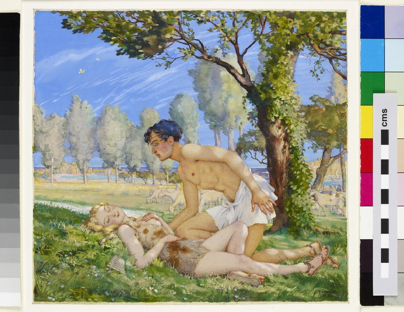 Daphnis and Chloe (WA1949.370)
