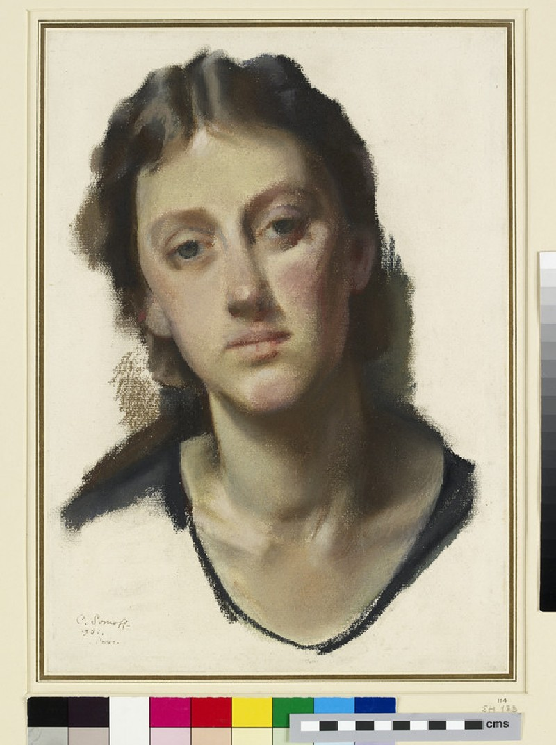Study for a Portrait of Miss Tatiana Braikevitch