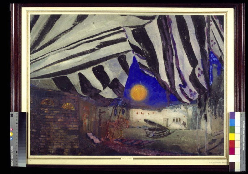 Décor for 'La Tragédie de Salomé' (WA1949.379.1)