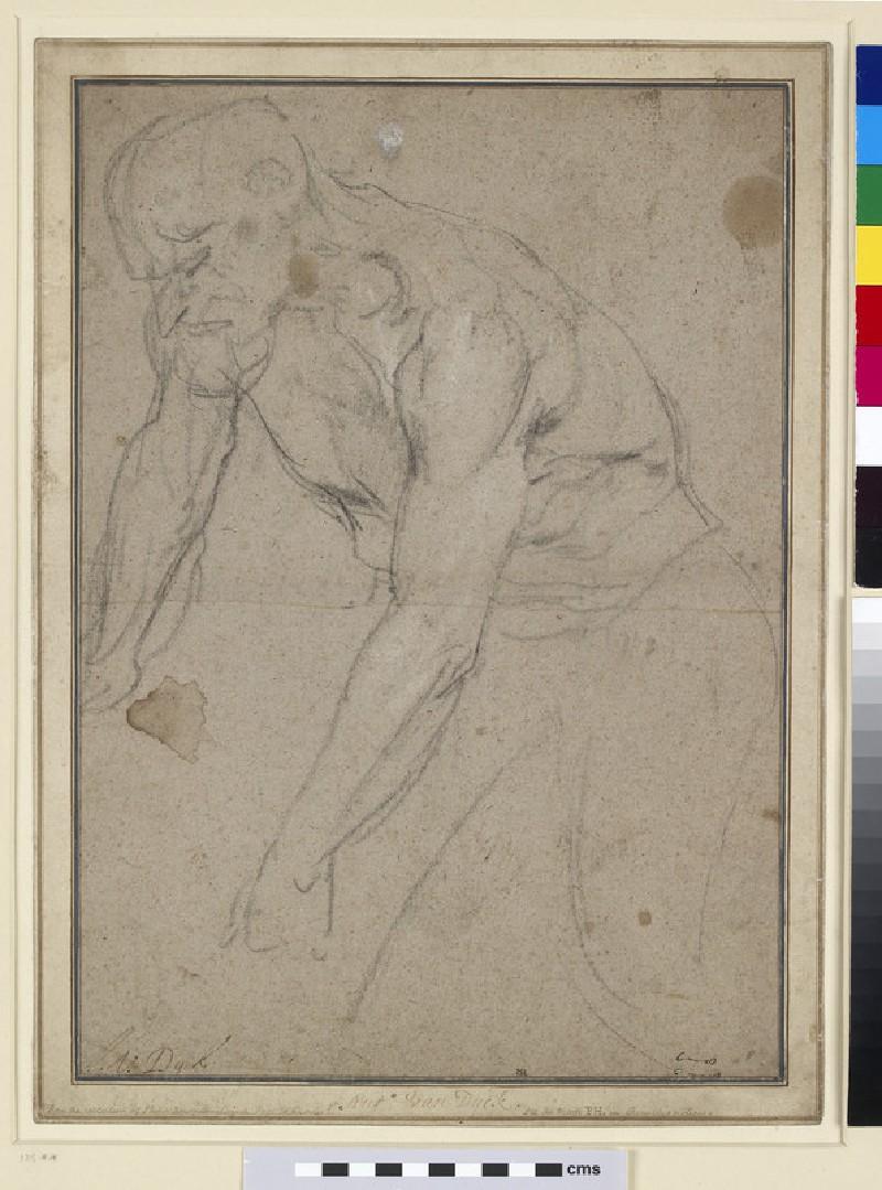 Study of a nude male Figure (WA1949.56)