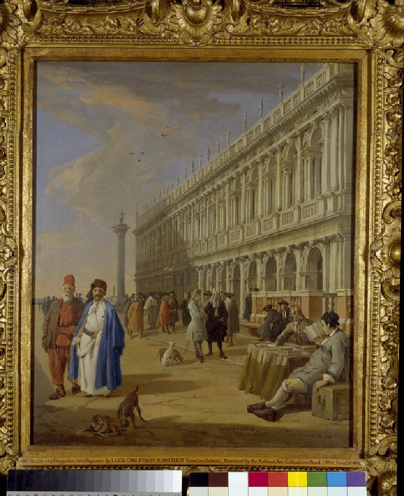 The Piazzetta, Venice (WA1949.6)