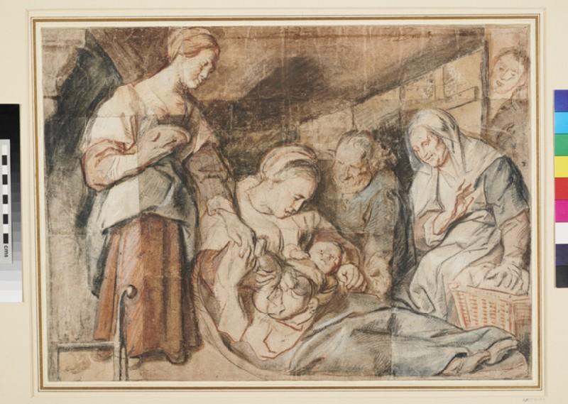 The Holy Family (WA1950.170, recto)