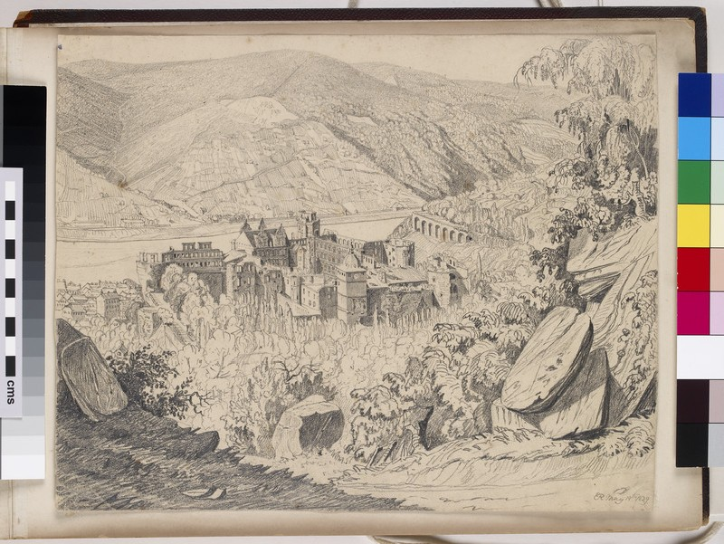 View of Heidelberg Castle (WA1950.178.168.1)