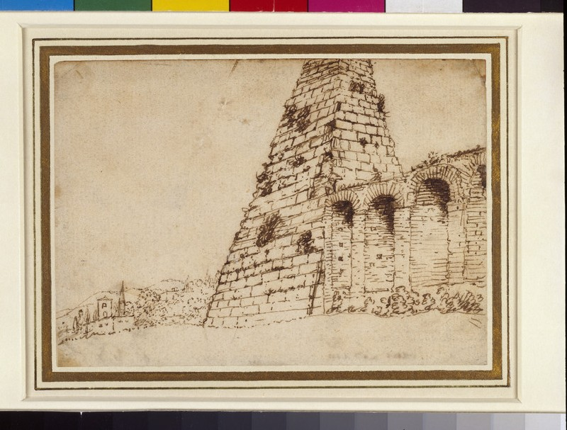 The pyramid of Caius Cestius (WA1950.178.25)