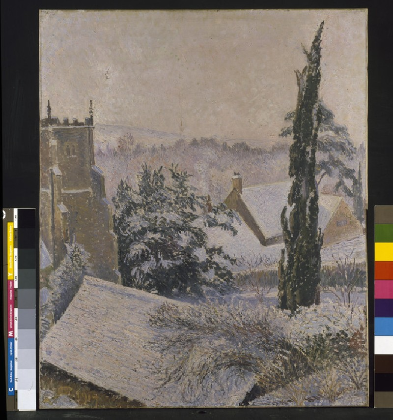 East Knoyle Church: Snow (WA1950.189)